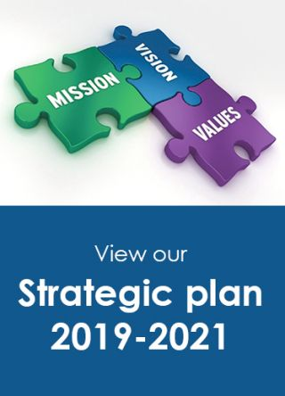 View our Strategic plan 2019-2021